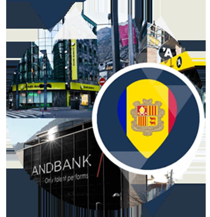 Bancs a Andorra