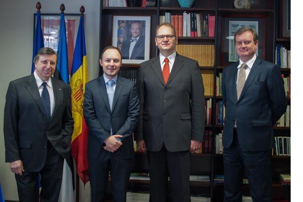 Xavier Espot est nommé à la tête du gouvernement d'Andorre